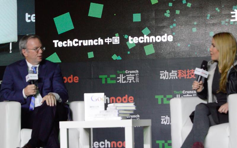 Google nunca se fue del todo de China y a pesar de todo planea volver. Y otras cosas que aprendimos de Eric Schmidt en TechCrunch Beijing