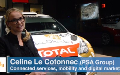 The digital transformation of the automotive industry with Celine Le Cotonnec (PSA Group)