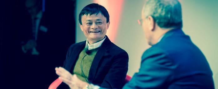 Jack Ma entrevistado por Sir Martin Sorrel