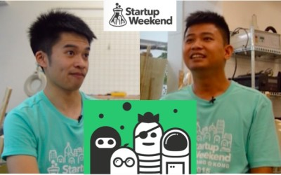 Young startups at Startup Weekend Hong Kong