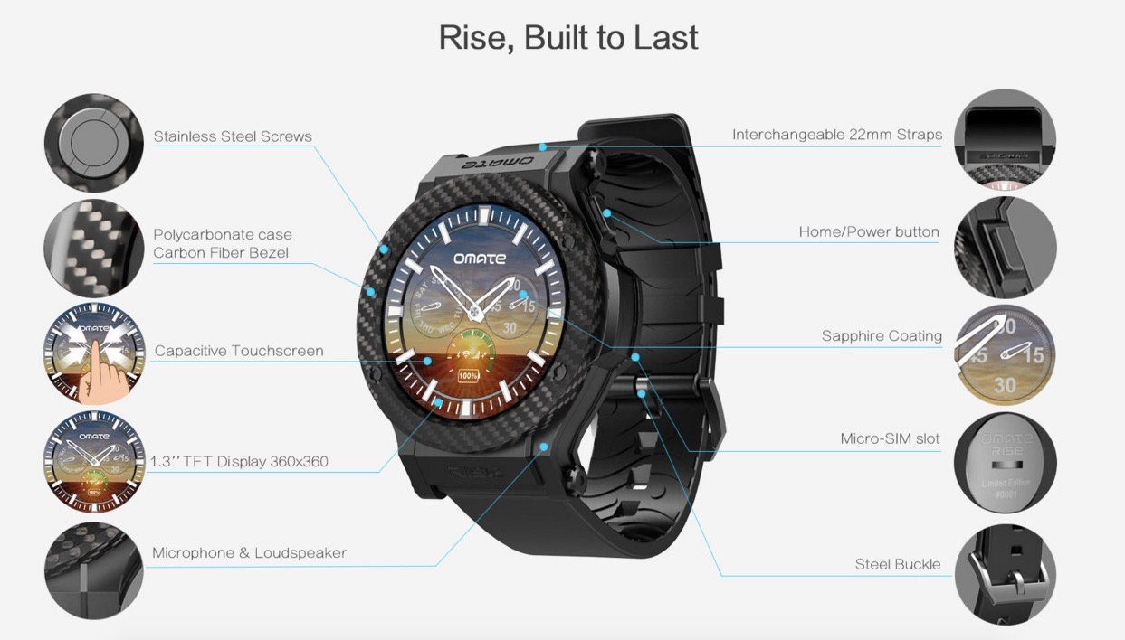 omate smartwatch
