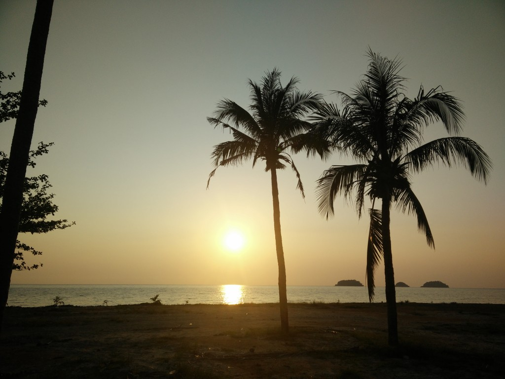 atardeceres molones en Tailandia