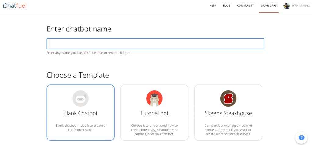 Creación de chatbot