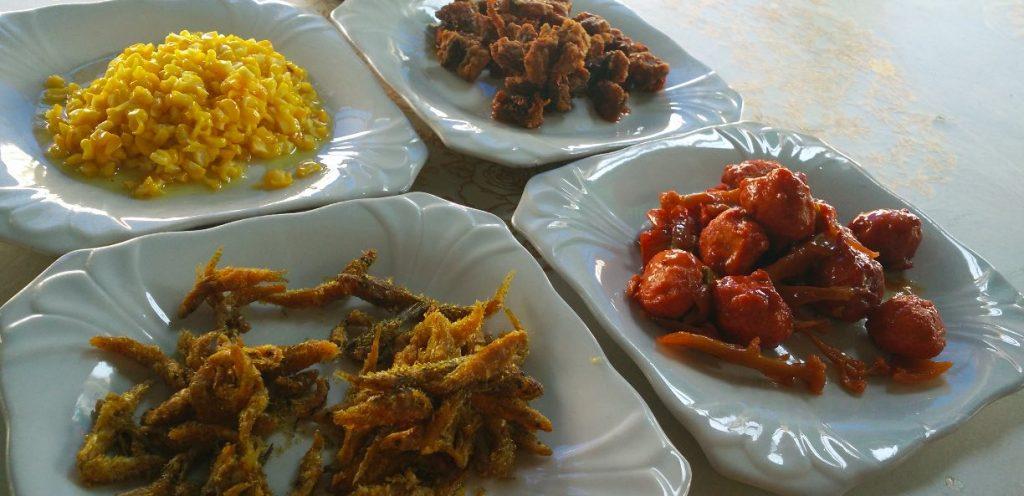 Comida en Mandalay