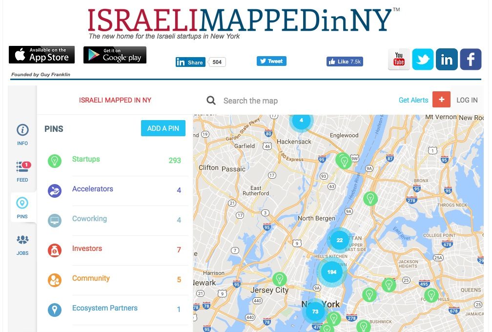 Israeli Mapped in NYC