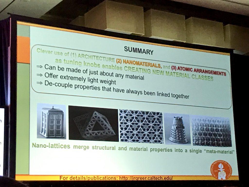 EmTech Asia nanolattices