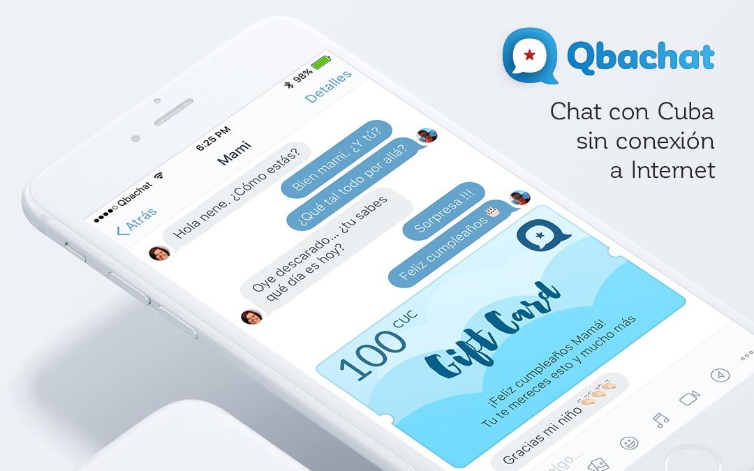Qbachat: cómo chatear con Cuba sin conexión a Internet. Entrevistamos a Ernesto Pino